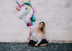 FFM, beauty at night, Photography, Make-up Artist, Vanessa Renner, Rhein-Main, Frankfurt, Lifestyle, Ballon, balloon